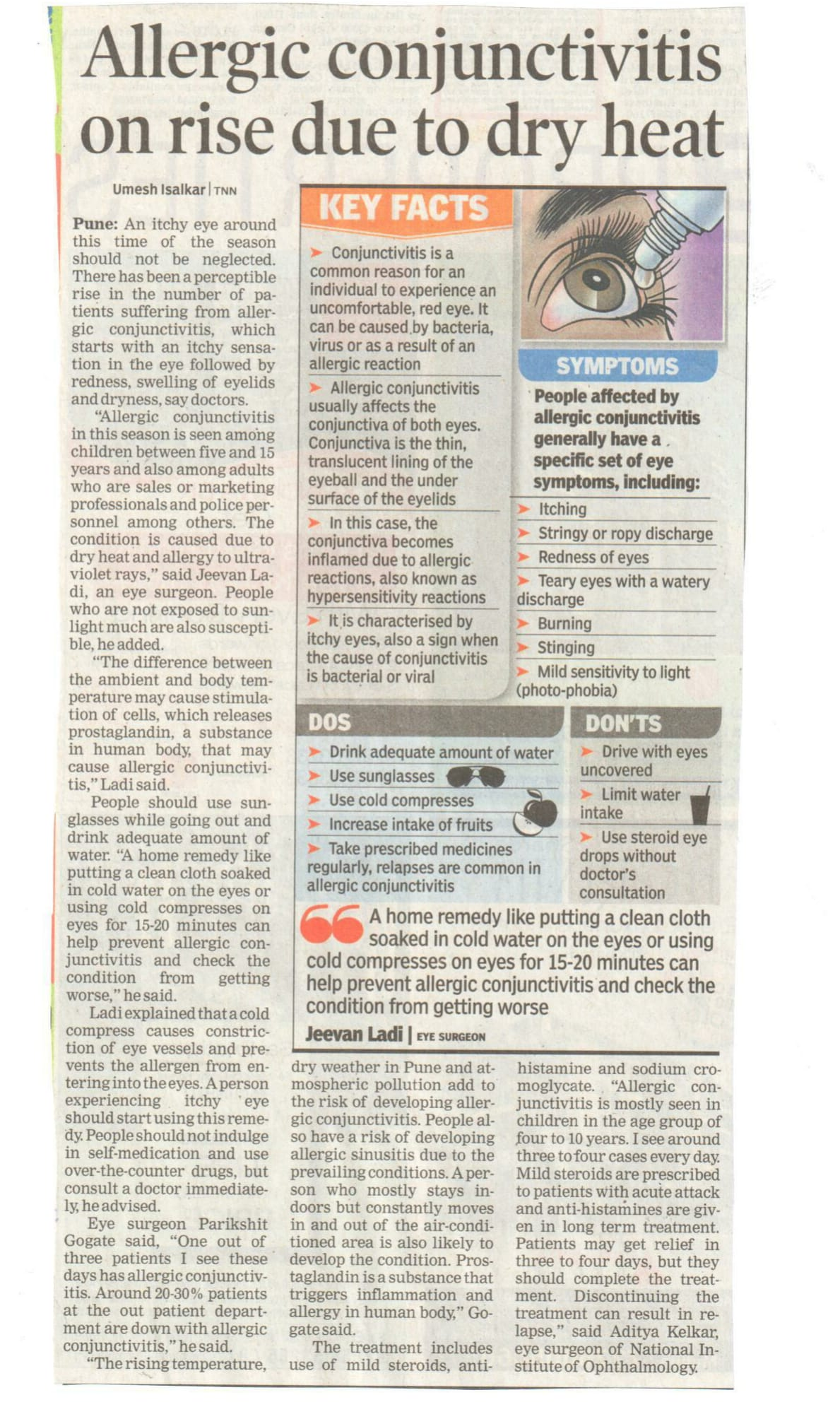 cropped_THE TIMES OF INDIA 24 APRIL 2014-1
