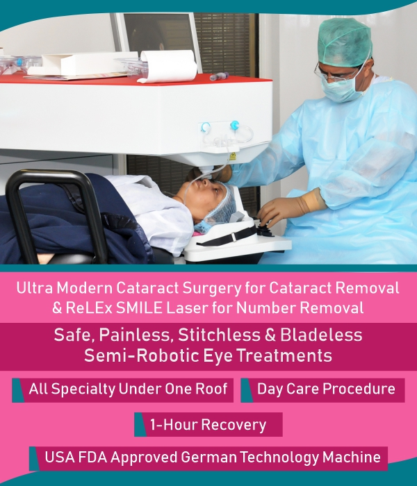 Ultra Modern Cataract Surgery by Dr. Jeevan Ladi at Dada Laser Eye Institute