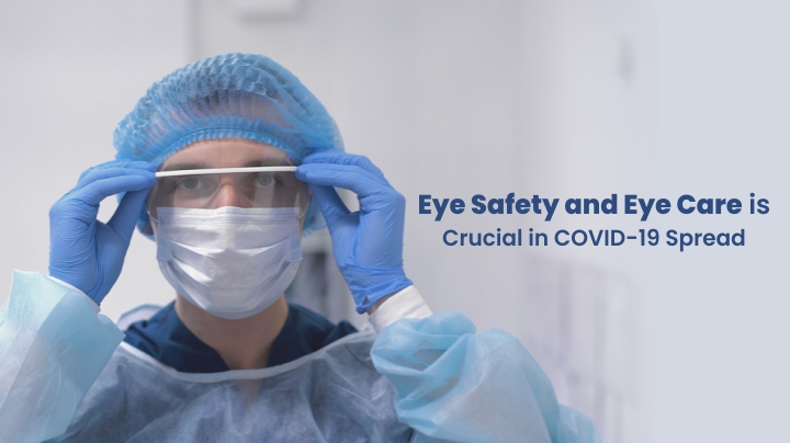 Eye Safety and Eye Care is Crucial in COVID-19 Spread