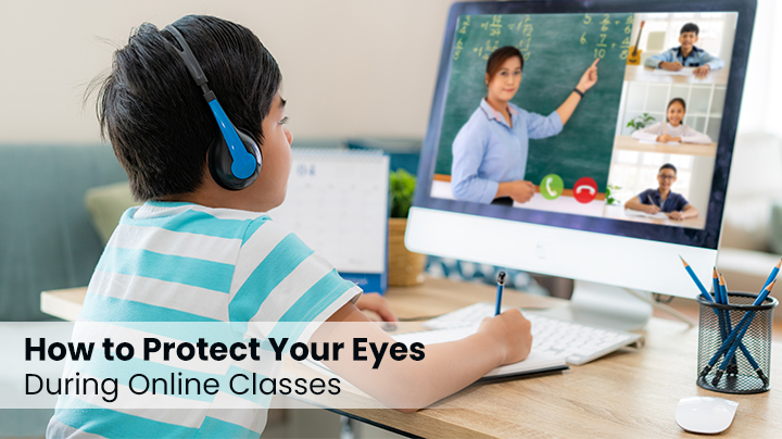 How To Protect Your Child's Eyes During Online Classes